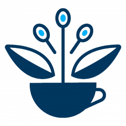 Connected Coffee - Life-Changing Specialty Coffee - Blue Logo